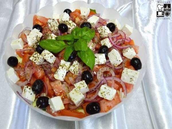 Sałata Grecka tradycyjna z serem feta